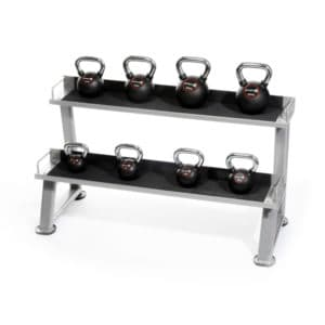 Kettlebell with Rack